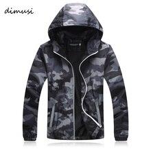 DIMUSI Quick Dry Men Windbreaker Skin Coat Sunscreen Waterproof Mens Camouflage Army Outwear Ultralight Windbreake Jacket,YA599