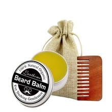 3 Series Shaving Cream Beard Wax Set With Comb Bag Improve Frizz Drape Smooth Care Stereotypes