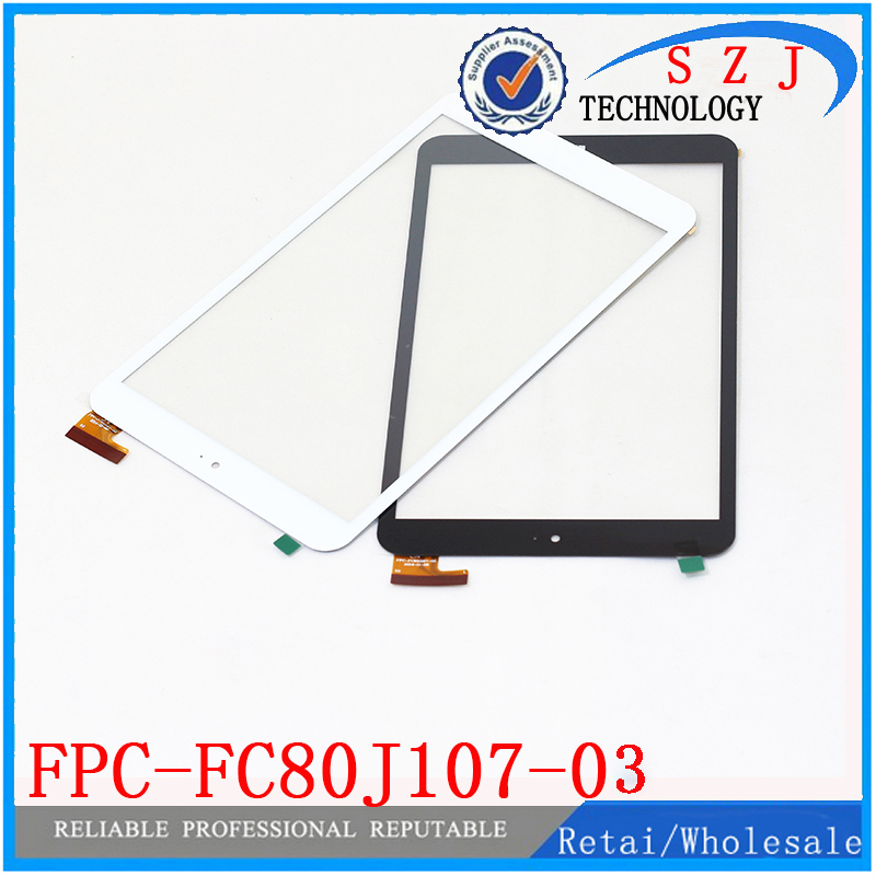 New 8 inch Touch Screen for Onda V820W Wins Chuwi Vi8 Tablet FPC-FC80J107-03 Glass Panel Digitizer Replacement Free Shipping new for 9 7 inch onda v919 air ch tablet pc digitizer touch screen panel replacement part free shipping