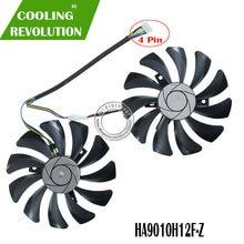 2 pçs/set P106 VGA cooler Para MSI GeForce GTX 1060 GPU GTX1060 GTX-1060-6GT-OC INNO3D GTX 1060 GB video Graphics 6 resfriamento cartão