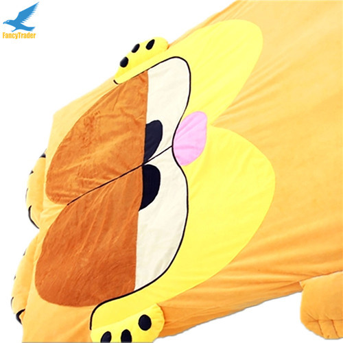 Fancytrader  Anime Garfield Beanbag Soft Giant Plush Cat Bed Carpet Tatami Sofa Sleeping Bed Nice Gift FT90904 (7)