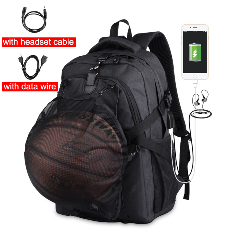 New Backpack basketball bag Camping Oxford Laptop Anti-thief Male School Bag Outdoor Sports Backpack