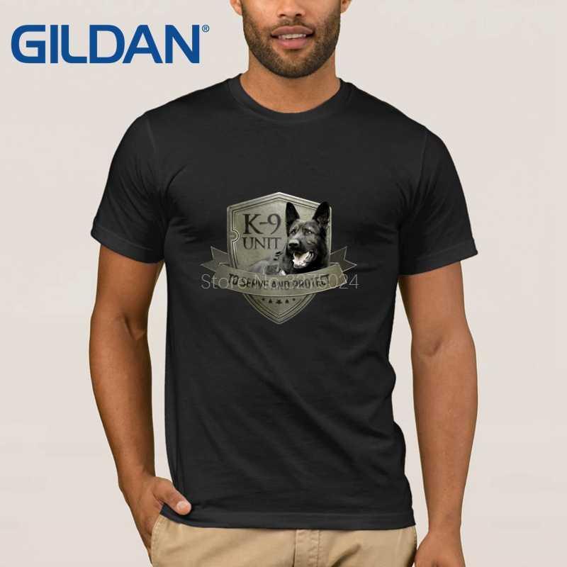 4602832c735 Creature Summer Style K9 Military Men s T Shirt K9 Unit Tee Shirt Men New  Style O