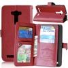 9 Card Holders Wallet Leather Cover For Asus 2 Laser ZE500KL 5 5 Case Flip Stand