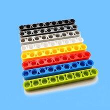 10pcs/lot Technic Parts Non-toxic Plastic Building Blocks Bricks DIY Toys 1 x 9 Thick Beam 40490 MOC Brick Toy