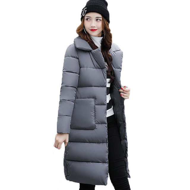 09f3d32cf US $22.37 46% OFF|Dow parka women down jacket winter coat winter parka  cotton padded jacket Woman Winter Jacket Coat-in Parkas from Women's  Clothing ...