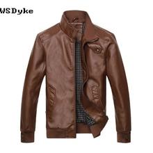 Neue Mode Dünne Lederjacke Männer Gute Qualität Komfortable Motorradjacke 333