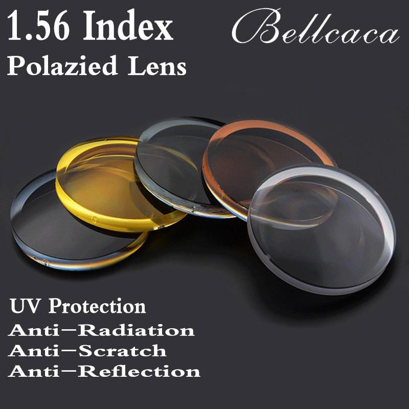 8415dedb3f 1.56 Index Aspheric Optical Polarized Sunglasses Prescription Lens CR-39  Myopia Presbyopia Lens Sun Glasses