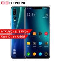 Elephone A5 6GB 64GB Mobile Phone Android 8.1 MTK6771 Octa Core 6.18 Inch FHD+ U Notch Screen 20MP camera 4000mah 4G Smartphone