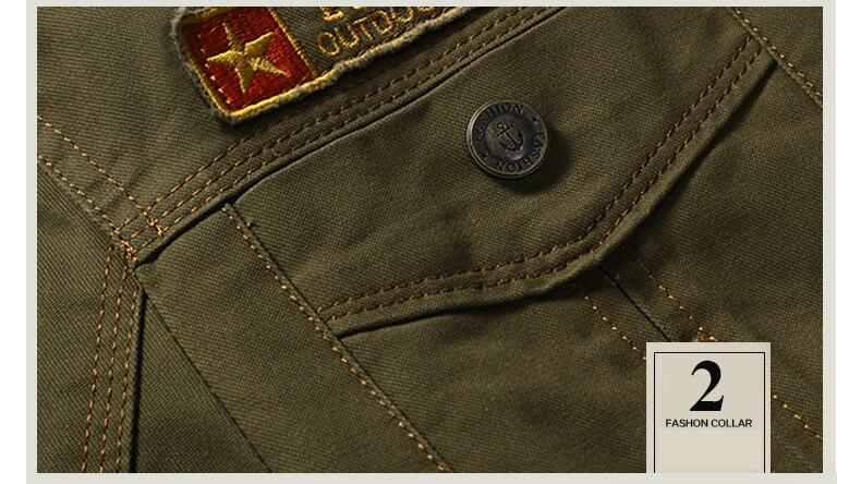 Denim Hiking Jackets Mens Coat (9)