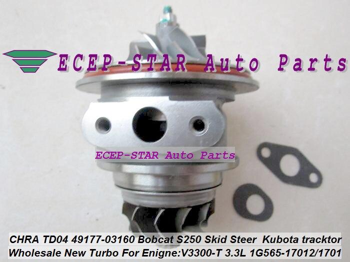 Turbo Cartridge CHRA TD04 49177-03160 1G565-17012 49177-08130 For Bobcat S250