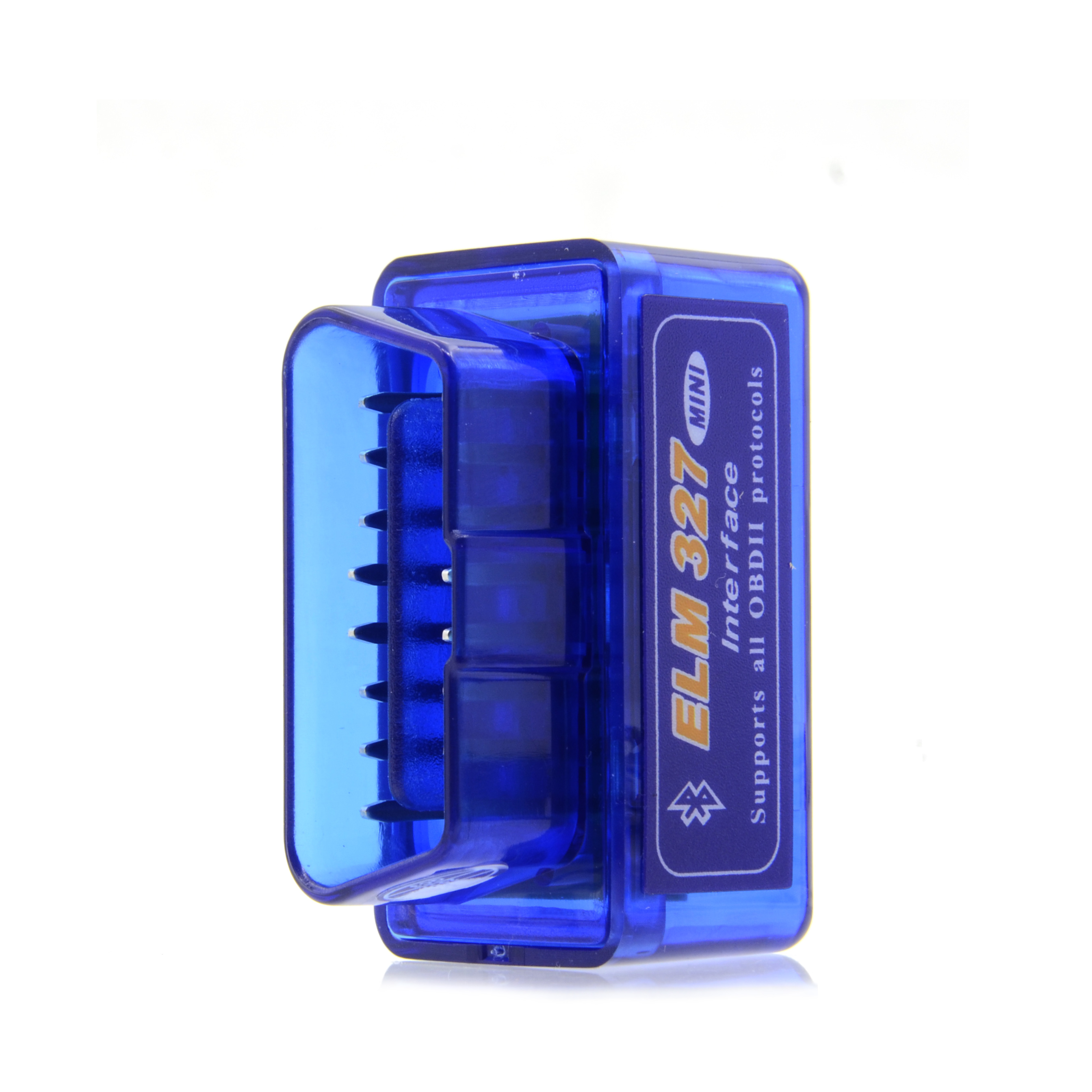 Image 5 - 50pcs/lot 2019 New V2.1 ELM327 Bluetooth Supports Multi Protocols Auto OBD2 Code Reader ELM 327 for Android DHL Free on