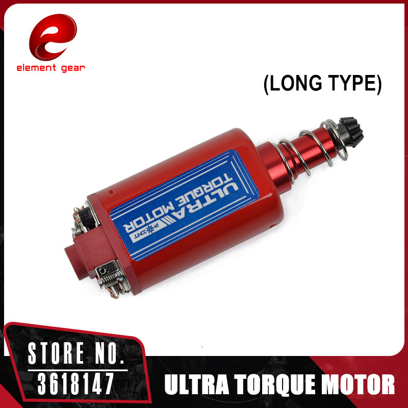 Element ULTRA High Twist Type High Speed Motor High Torque AEG Motor Long Type for Airsoft M4/MP5 M16 G3 AEG Motor P90 FB09002 type 55tyb recorder calorimeter motor 375 motor turn