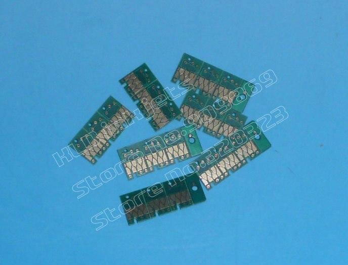 [KLD струйные принтеры] Совместимый струйный картридж чип совместим с Epson Стилусы Pro 4450 4000 4400 7600 9600 7800 7880 9800