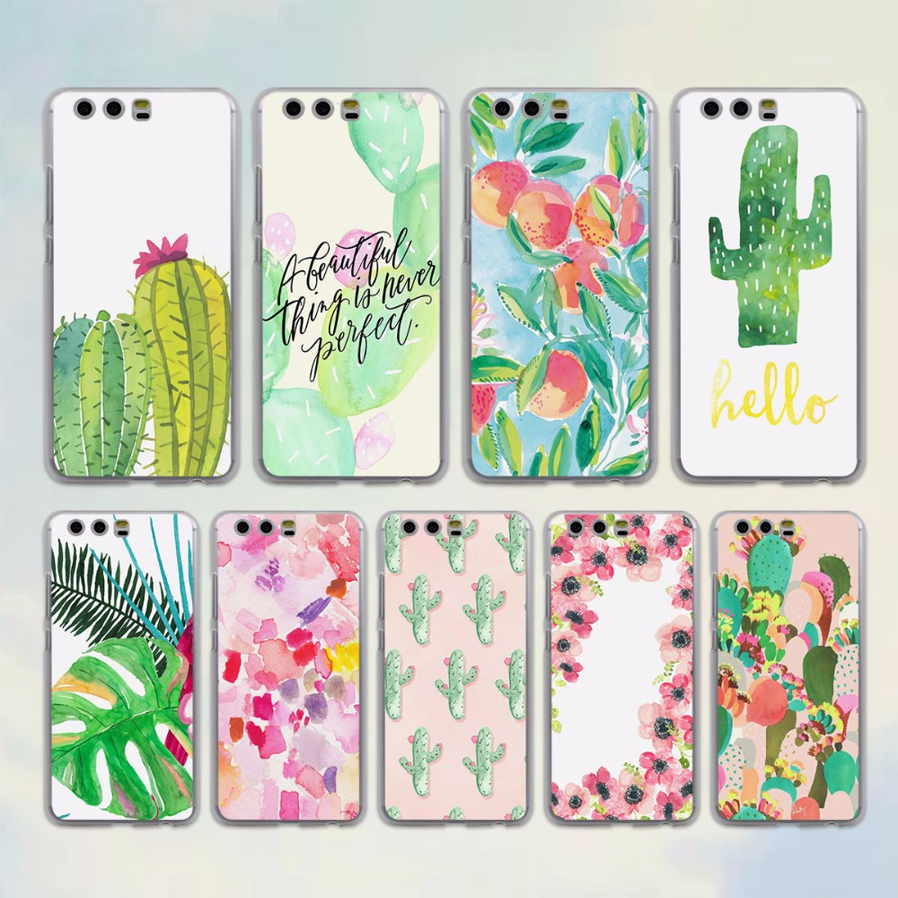 Tropical floral plant cactus vibes style clear Mobile ...