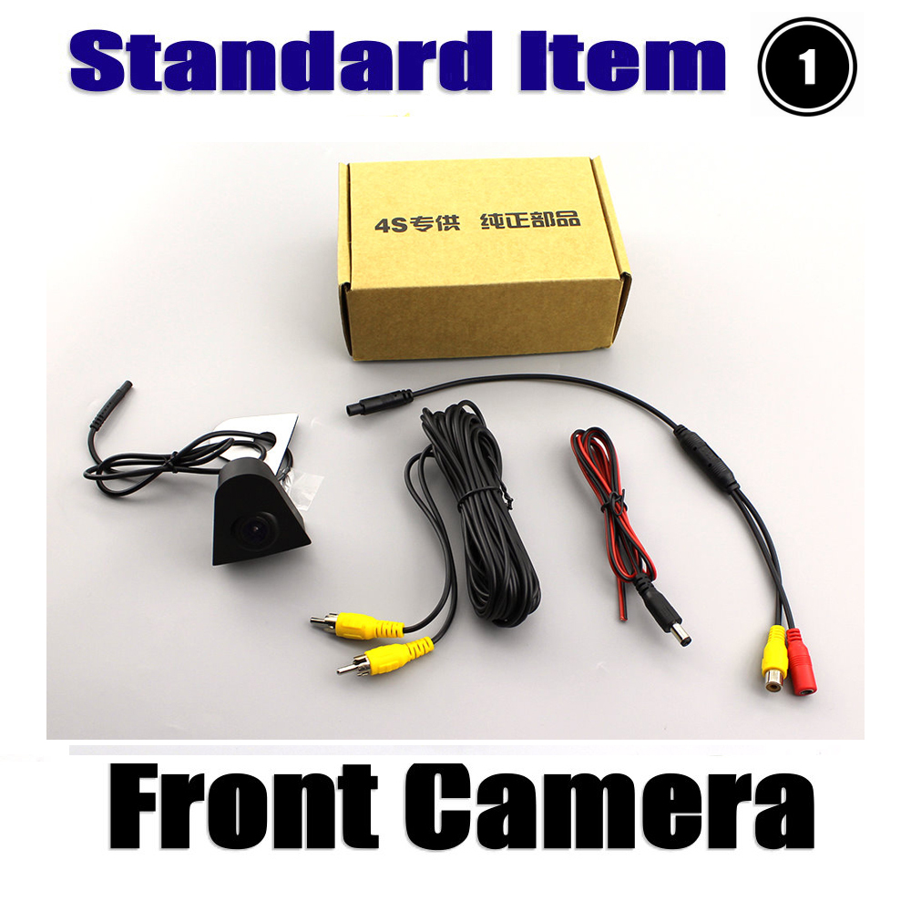 Liandlee AUTO CAM Car Front View Camera For Honda Odyssey RL5 2011 2017 Small Logo Embedded Not Reverse Rear Parking Camera in Vehicle Camera from Automobiles Motorcycles