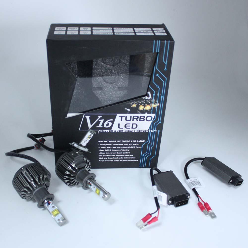 Lumière de brouillard de lumière LED de voiture de XIANGSHANG H3 LED 40 W 4800LM 6000 K basse consommation lumen élevé pour VW Passat Skoda pour Mendio Ford