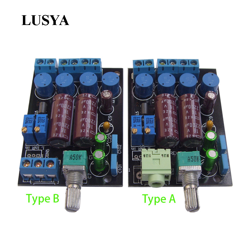 Lusya TA2024 Audio Digital Amplifier Board Mini T-Amp Tripath 2x15W DC 12V E3-006 jtron ta2024 dc 12v double track 15w 15w car pc hi fi mini digital amplifier board green