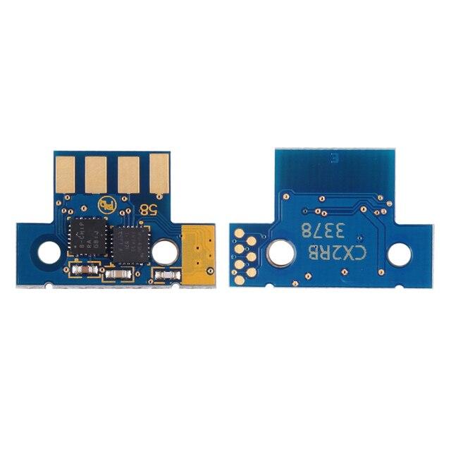 1 set 8K EU 80C2XK0 80C2XC0 80C2XM0 80C2XY0 chip for Lexmark CX510 CX510de CX510dhe CX510dthe laser printer toner cartridge