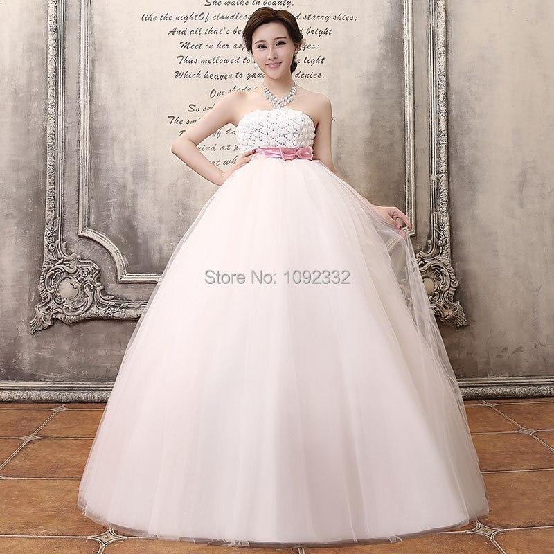 Plus Size Empire Waist Wedding Dress: S Stock 2016 New Plus Size Women Maternity Wedding Dress