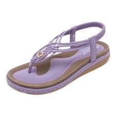 лучшая цена 2019 Summer New Women sandals Fashion casual comfortable Woman shoes large size beach Girl sandals