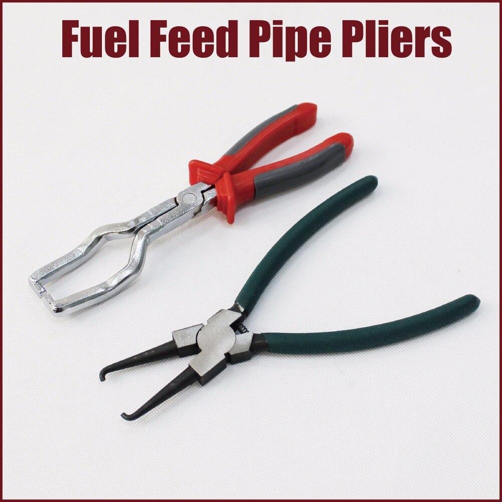 Pinces filtre à carburant tuyau pinces filtre carburant ligne connecteur pinces pince de filtre à huile clé essence clip tuyau tuyau de sortie retrait