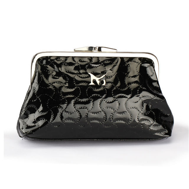 81f45d742ac6 Womens Patent Leather Clutch Bag Small Day Clutches Bags Ladies PU Leather  Small Bags Black Luxury Mini Evening Purse Bags 2018