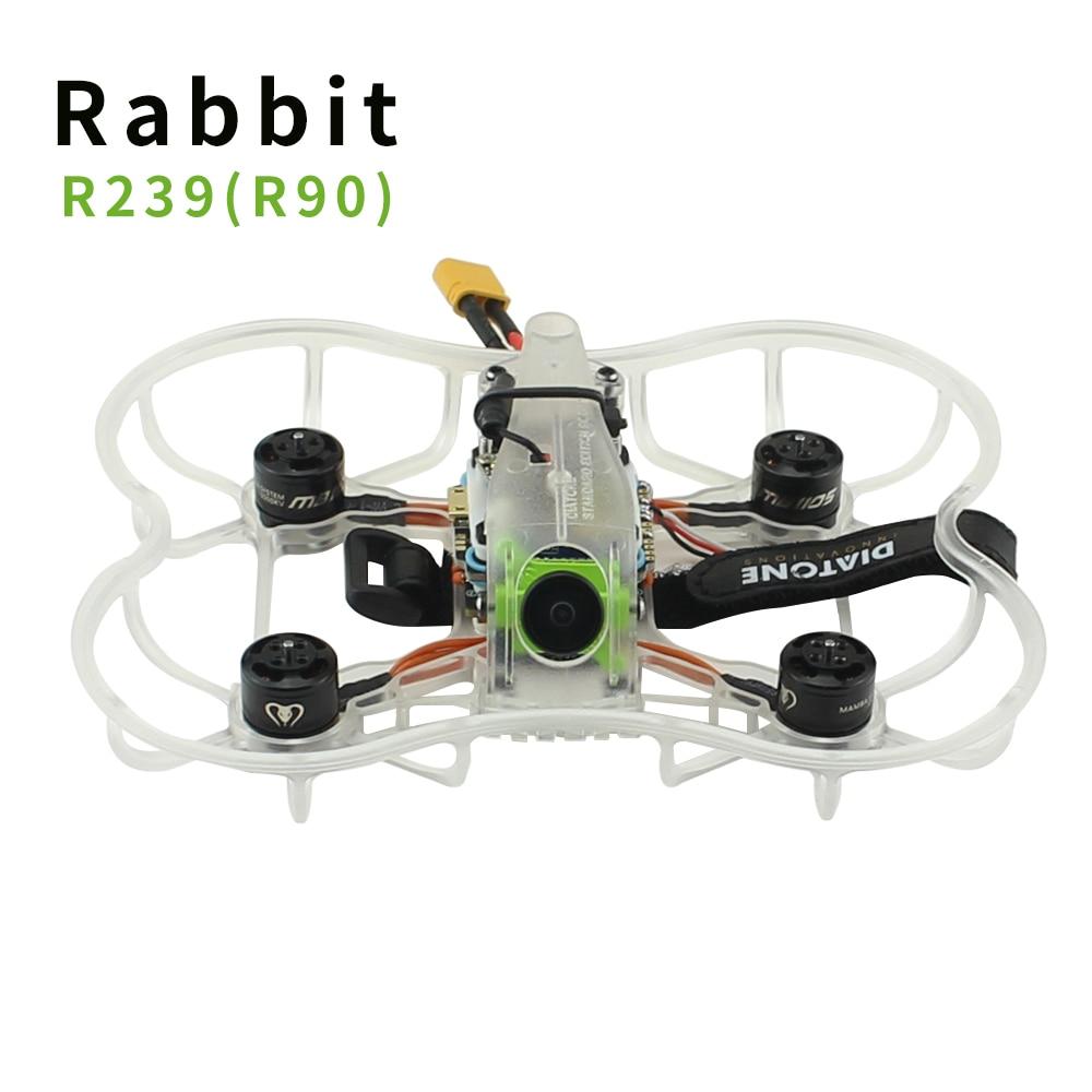 Diatone 2019 GT-Lapin R239 (R90) 2 pouce 3 s FPV Racing Drone PNP F4 8 k OSD 20A Blheli_S ESC Runcam Caméra