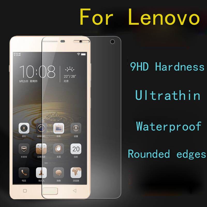 Tempered Glass For Lenovo A5000 A6000 A7000 A6010 K3 K4 K5 K6 Note Prower A Plus P2 A2010 Vibe P1 P1M C C2 Protector Film Case