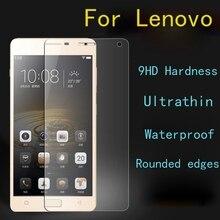 9H Tempered Glass For Lenovo A5000 A6000 A7000 A6010 K3 K4 K5 K6 Note Prower A Plus P2 A2010 Vibe P1 P1M C C2 Screen Film Case
