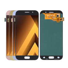AMOLED For SAMSUNG Galaxy A5 2017 A520 LCD Display Touch Screen Replacement For Samsung A520 Screen LCD Phone Parts