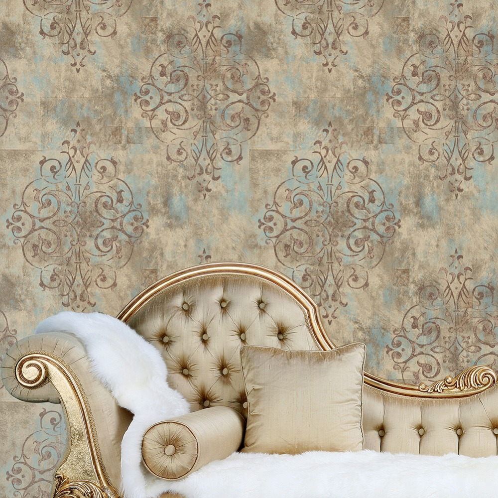 Haokhome Vintage French Damask Wallpaper 0 53m 10m Contact Paper