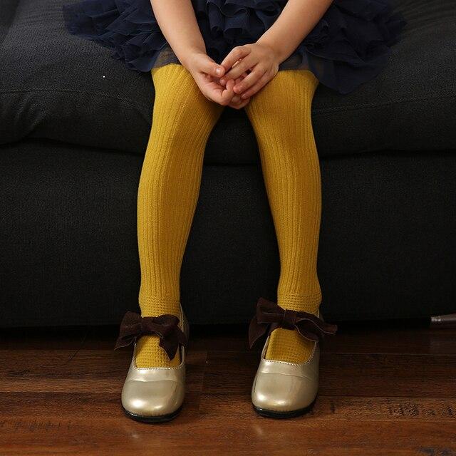 2016 Autumn Baby Girls Tights Children Cotton Warm Pantyhose Kids Stocking