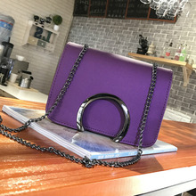 Woman crossbody ladies hand bags for women leather handbags o Bag Korean New Chain Small Shoulder Satchel Mini- Bag handbag sac