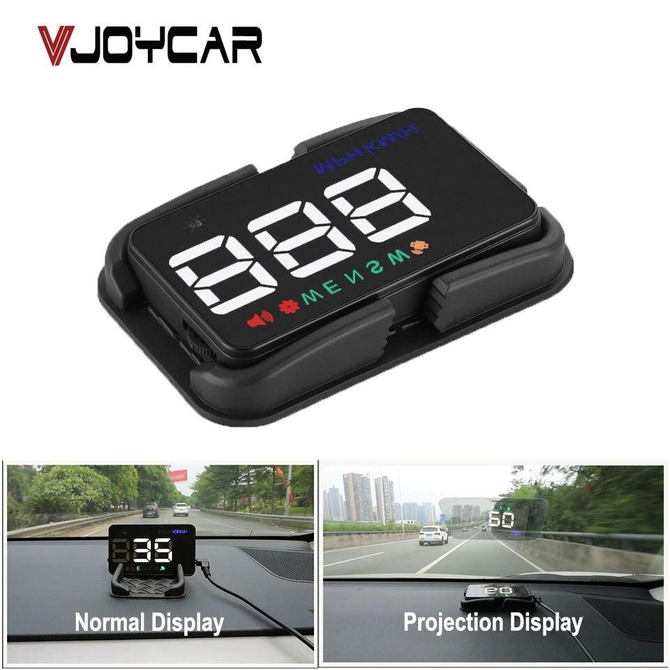 VJOYCAR Universal Auto HUD GPS Tacho Speedo Head Up Display Digital Über Geschwindigkeit Alarm Windschutzscheibe Projetor Auto Navigation