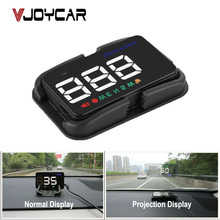 VJOYCAR Universal Car HUD GPS Speedometer Speedo Head Up Display Digital Over Speed Alert Windshield Projetor Auto Navigation