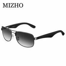 8c319c7709fbd UVA MIZHO DESIGN DA MARCA Óculos Polarizados Homens Condução Masculino  Espelho Óculos de Sol Mulheres Gafas