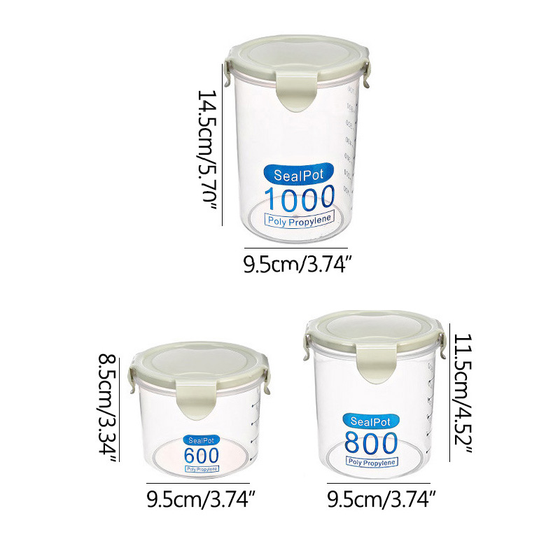 Order Best Airtight And Plastic Kitchen Container Set And Sealed