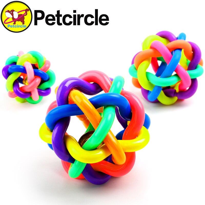 1 unids colorido pelota de juguete para mascotas gato de juguete perro de juguet