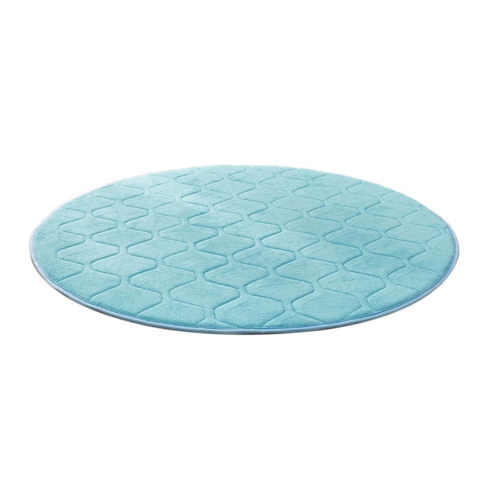 Коралловая шерсть мульти-цветной коврик для утолщения мусульманский для молитвы инструмент медитации подушки для медитации поклонение коврик чайная церемония - Цвет: lake blue