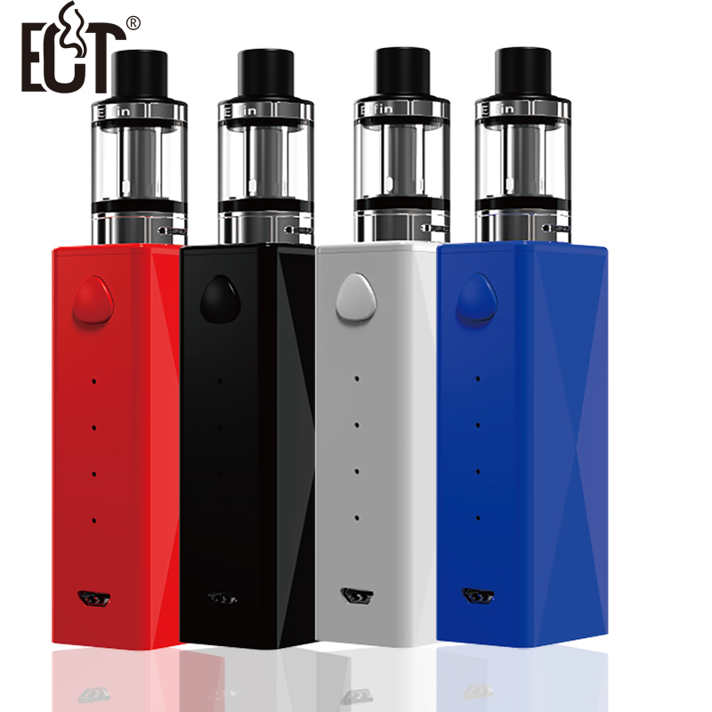 2200MHA ECT 40W c40 MOD electronic cigarette Mod kit with 2.0ml Elfin atomizer Big vapor start kit top refilling e cigarette