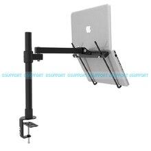 BC250/40 Height Adjustable Desktop Clamping Full Motion 11-15 inch Laptop Desk Notebook Holder Brakcet Tablet PC Stand