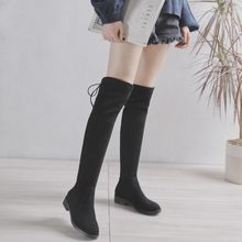 2fc3fa09c4df5 Knee Boots Lacing Werbeaktion-Shop für Werbeaktion Knee Boots Lacing ...