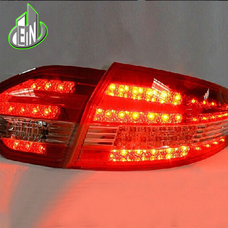 Car Styling For Renault Fluence 2010-2014 LED Taillights Almera SM3 Tail Lamp Rear Lamp DRL+Brake+Park+Signal led light car styling tail lights case for subaru xv 2013 2016 taillights led tail lamp rear trunk lamp cover drl signal brake reverse