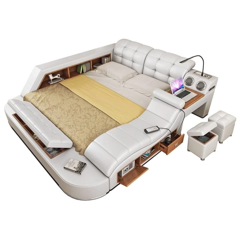 Maison Room Frame Single Kids Tempat Tidur Tingkat Literas Leather Moderna Mueble De Dormitorio bedroom Furniture Cama Bed