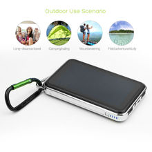 Original ALLPOWERS Solar Power Bank Solar External Battery Charger for iPhone 6 6s 7 8 X Xr Xs max iPad Samsung LG Sony HTC. lson 2600mah portable external power bank w usb cable for iphone ipad samsung htc