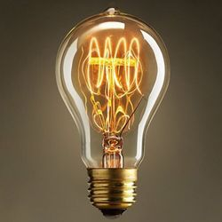 2pcs A19 E27 60W Edison Lamp Light Bulb Vintage Filament Retro Industrial Incandescent light 110/220V Free Shipping