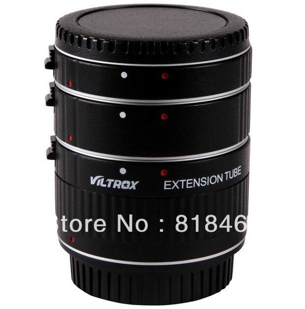 Livraison + numéro de suivi Viltrox Autofokus AF Macro Tube d'extension anneau Set DG pour Canon EOS 60D 50D 7D Mark 5D III