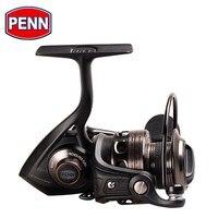 Original penn conflito cft 2000-8000 carretel de pesca de fiação de metal completo 7 + 1bb HT-100 carretel de pesca de água salgada de água doce roda