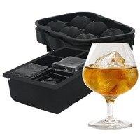 3 יח'\סט מעוקב אייס קיוב מגש סיליקון עובש כדור קרח כדורי גלידה משפך מקבלי בירה ויסקי צ 'ילרים צידניות יין